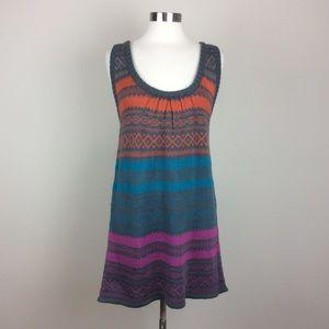 Angie Racerback sleeveless sweater dress